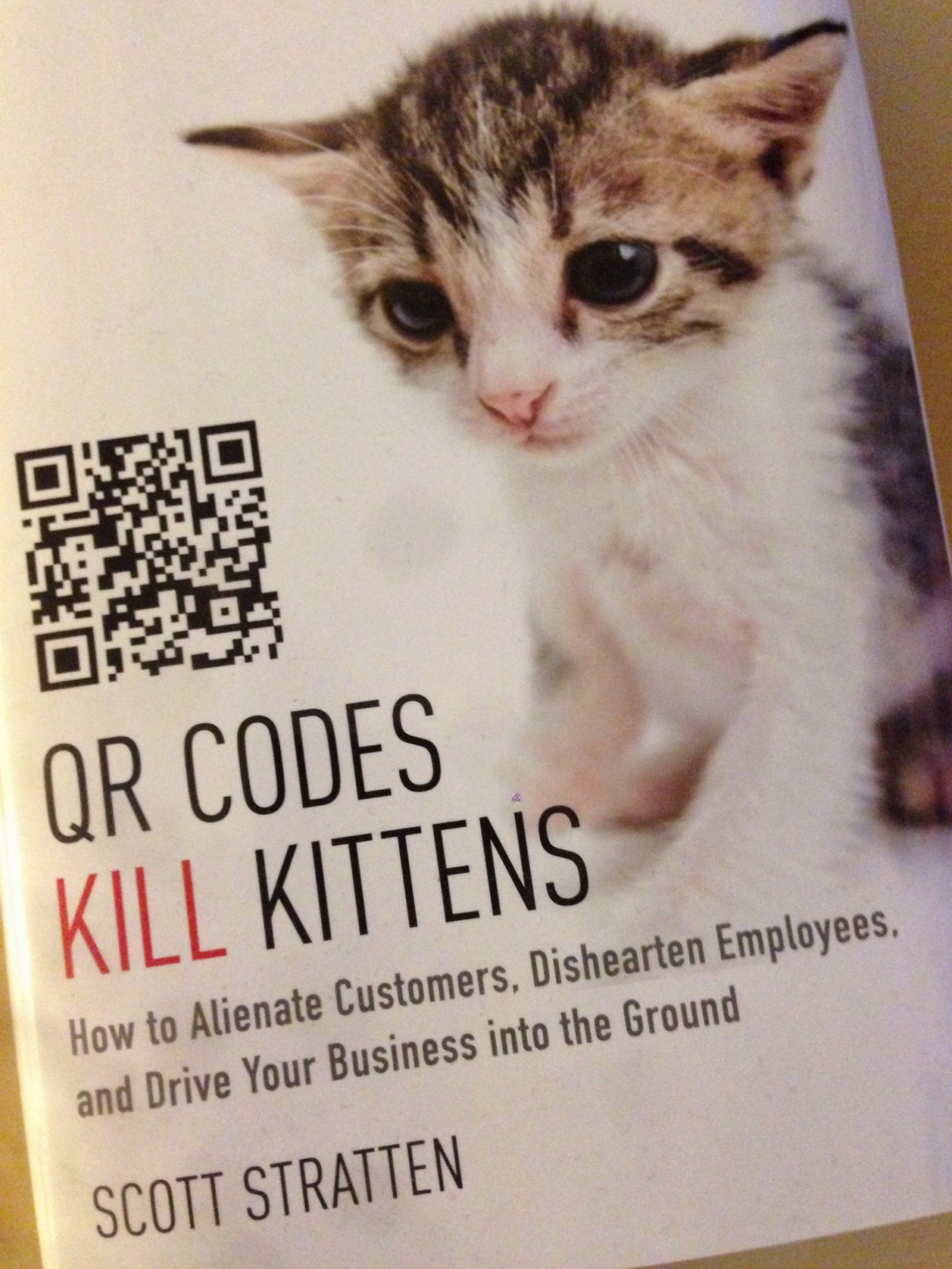 QR Codes Kill Kittens – reingeblättert